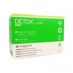 Aragan Détox 7 jours 7 flacons