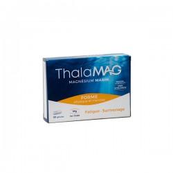 Thalamag FORME PHYSIQUE ET MENTALE magnésium marin FER VIT B9 30 gélules
