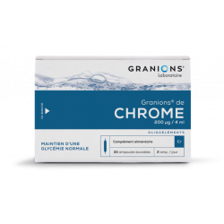 Granions chrome 30 ampoules