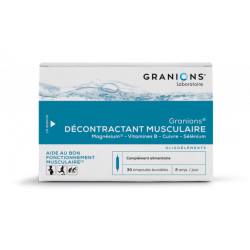 GRANIONS DECONTRAC MUSC AMP2ML30