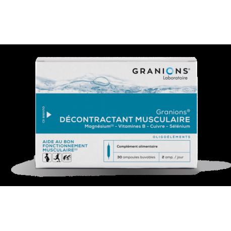GRANIONS DECONTRAC MUSC AMP2ML30
