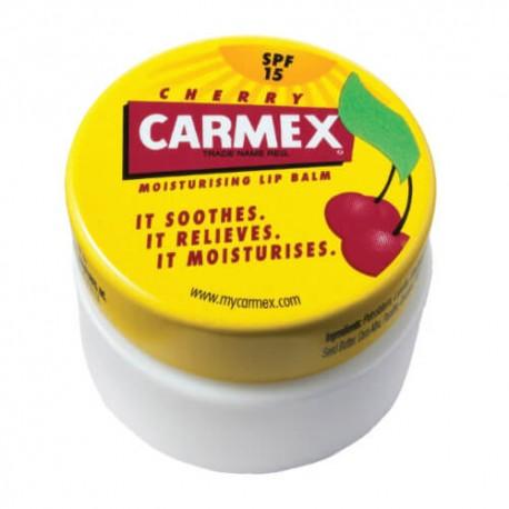 Carmex baume lèvre pot goût cerise 7.5g