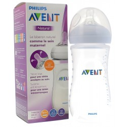 AVENT BIBERON NATURAL 6 M+ 330 ML