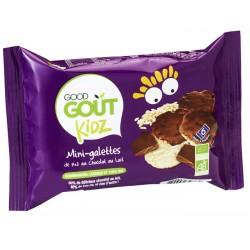 GOOD GOUT KIDZ MINI-GALETTES RIZ CHOCOLAT