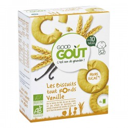 GOOD GOUT BISCUITS TOUT RONDS VANILLE 80G