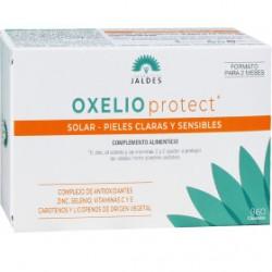 OXELIO PROTECT SOLAIRE PEAUX CLAIRES ET SENSIBLES 60 CAPSULES FORMAT 2 MOIS