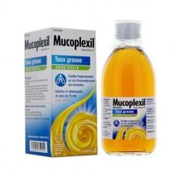 MUCOPLEXIL expectorant 5% adulte sans sucre 250 ml