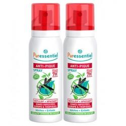Puressentiel Anti-Pique Spray répulsif et apaisant 75ml lot de 2