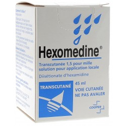 HEXOMEDINE TRANSCUT FV45ML
