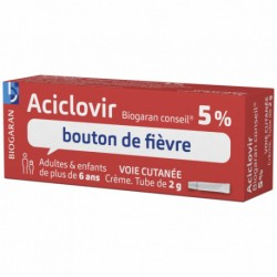 ACICLOVIR 5% BIOG CONS CR TUB 2G