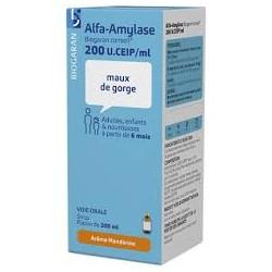 ALFA-AMYLASE BGC 200U FL200ML