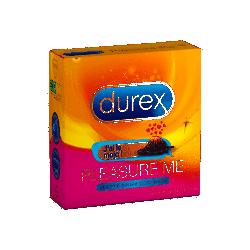 DUREX PLEASURE ME préservatifs X 3