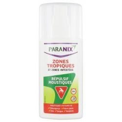 PARANIX REPULSIF MOUSTIQUES SPRAY ZONES TROPIQUES ET ZONES INFESTEES 90 ML