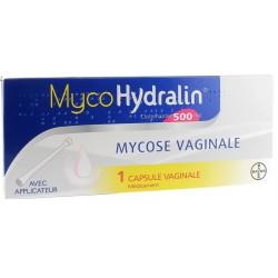 MYCOHYDRALIN 500 MG Mycose vaginale 1 capsule vaginale