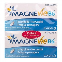 MAGNEVIE B6 LOT de 2 X 60 comprimés