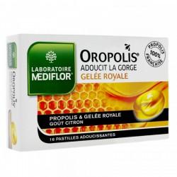 OROPOLIS COEUR LIQUIDE GELEE ROYALE 16 PASTILLES ADOUCISSANTES