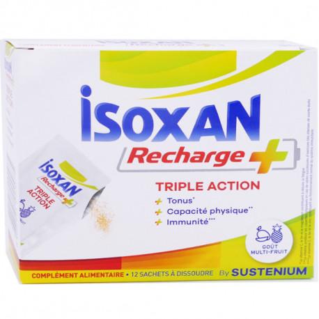 ISOXAN RECHARGE + TRIPLE ACTION 12 SACHETS