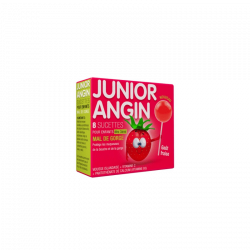 JUNIOR ANGIN MAL DE GORGE 8 SUCETTES