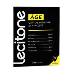 LECITONE AGE CAPITAL MEMOIRE ET VIVACITE 30 GELULES