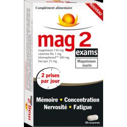 MAG 2 EXAMS 30 COMPRIMES
