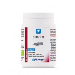 NUTERGIA ERGY 3 OMEGA 3 60 CAPSULES