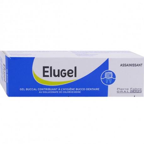 Elugel gel buccal à la chlorhexidine 40ml