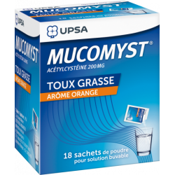 Mucomyst poudre orale 200 mg
