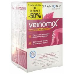 GRANIONS VEINOMIX LOT DE 2 X 60 COMPRIMES