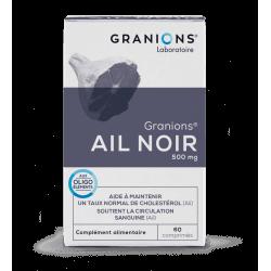 GRANIONS AIL NOIR 500 mg 60 comprimés