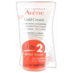 AVENE COLD CREAM CREME MAINS 50ML LOT DE 2