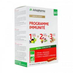 ARKOFLUIDES PROGRAMME IMMUNITE BIO 3 X 10 AMPOULES