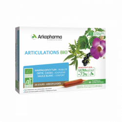 ARKOFLUIDES ARTICULATIONS BIO 20 AMPOULES