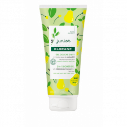KLORANE JUNIOR GEL DOUCHE 2 EN 1 A L'AVOINE BIO PARFUM POIRE 200 ML