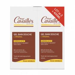 ROGE CAVAILLES GEL BAIN DOUCHE SURGRAS LOT DE 2 X 400 ML