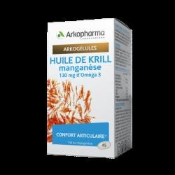 ARKOGELULES HUILE DE KRILL ET MANGANESE 45 CAPSULES