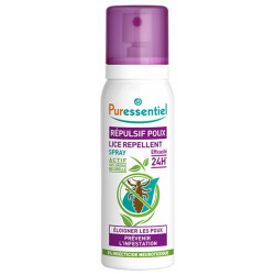 Puressentiel spray répulsif poux 75ml