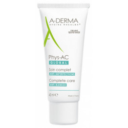A-DERMA PHYS-AC GLOBAL SOIN ANTI-IMPERFECTIONS 40ML