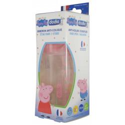 DODIE Peppa Pig Biberon Initiation+ 270 ml Débit 2 0-6 Mois - Peppa