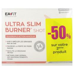 EAFIT Ultra Slim Burner Shot Quadruple Action Minceur Lot de 2 x 14 Shots