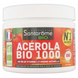 SANTAROME Bio Acérola Bio 1000 60 Comprimés
