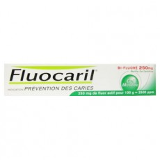 Fluocaril bi-fluore menthe gel dentifrice 250 mg