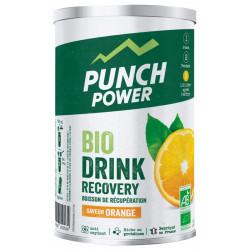 PUNCH POWER Biodrink Recovery Boisson de Récupération Saveur Orange 400 g