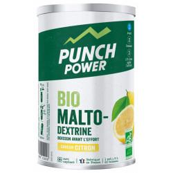 PUNCH POWER Biomaltodextrine Boisson Avant l'Effort 500 g - Saveur : Citron