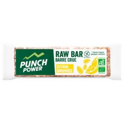 PUNCH POWER Raw Bar Bio 35 g - Saveur : Citron Amandes