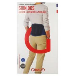GIBAUD Soin Dos Ceinture Lombaire Hauteur 21 cm - Taille L