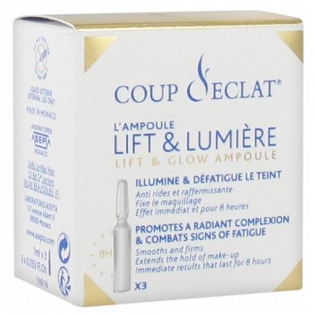 Coup d'Éclat 3 Ampoules Lift & Lumière 1mlx3