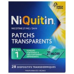 NIQUITIN 21mg/24 heures dispositif transdermique
