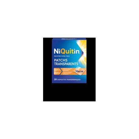 NIQUITIN 14mg/24 heures dispositif transdermique