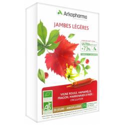 Arkopharma Arkofluides Jambes Légères Bio 20 Ampoules