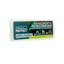 INSECT PROTECT APRES-PIQURES D'INSECTES 18 PANSEMENTS
